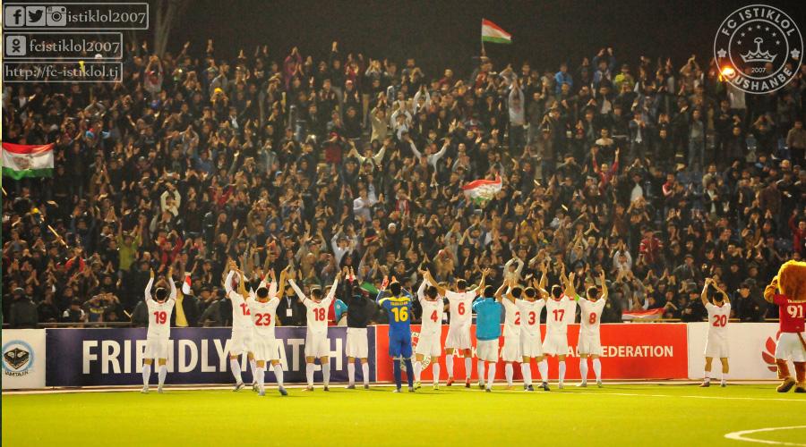 Футбол таджикистан афганистан